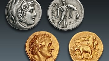 Elephant Symbolism on the Coins of Ptolemy I