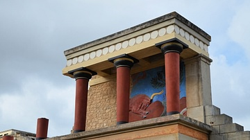 Restored West Bastion of Knossos