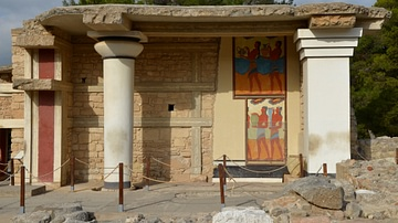 South Propylon of the Palace of Knossos