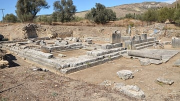 Temple of Apollo Pythios in Gortyn