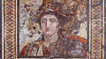 Mosaic Portrait of Berenice II