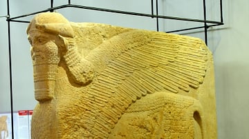 Lamassu from Nimrud