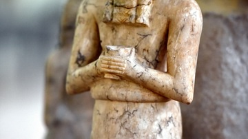 Statuette of Male Worshiper, Tell Asmar Hoard
