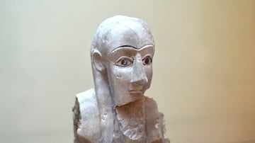 Male Worshiper from Tell Agrab at the Iraq Museum