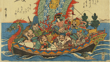 Seven Lucky Gods on Takarabune