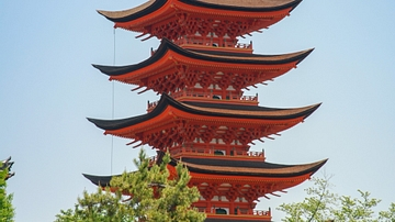 Five-storey Pagoda, Itsukushima Shrine