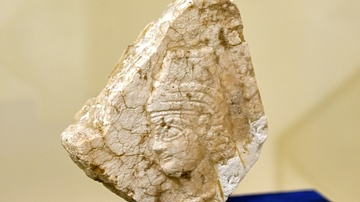 Relief of a Neo-Assyrian Queen