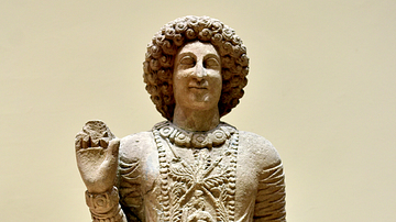 Statue of Prince Nihra from Hatra