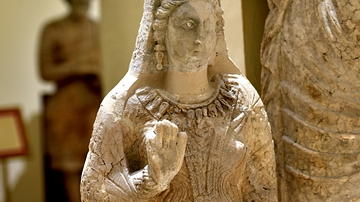 Statue of Princess Simi from Hatra