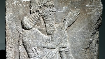 Wall Relief of Ashurnasirpal II from Nimrud
