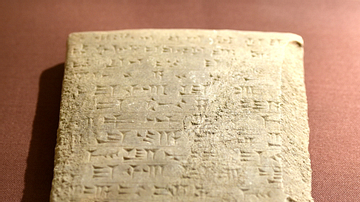 Clay Tablet of Adad-Nirari II from Assur