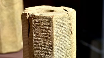 Hexagonal Prism of Sennacherib from Nineveh