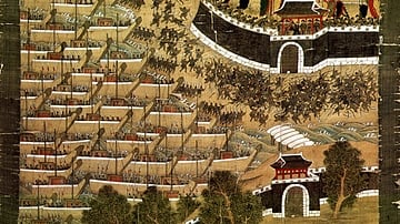 Defence of Busanjin Fortress, Imjin Wars