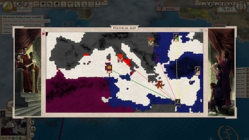 Political Map - Aggressors: Ancient Rome