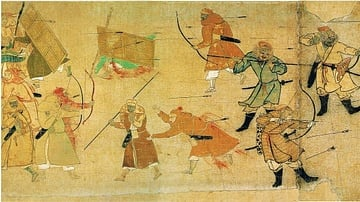 The Mongol Scroll, 1293 CE