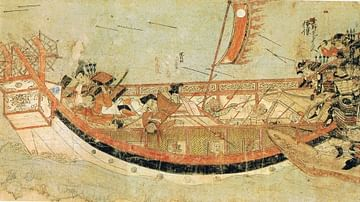 The Mongol Invasions of Japan, 1274 & 1281 CE