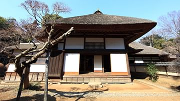 Exterior of a Traditional Japanese House