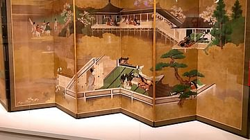 A Japanese Folding Screen