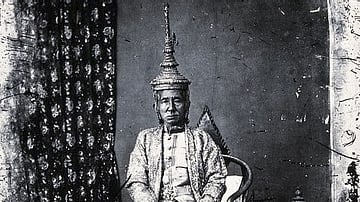 King Mongkut of Siam in State Robes