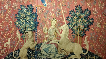 The Lady and the Unicorn: Sight