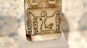 Early Cartouche of the God Aten