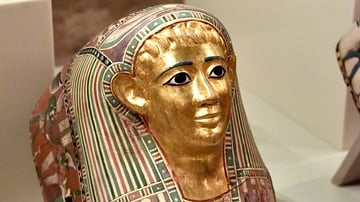 Mummy Mask of Pasyg