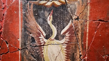 Wall Painting of a Swan in the House of Fortune, Carthago Nova