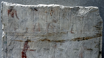 Relief of Deities from the Funerary Temple of Sahure