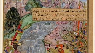 Aftermath of the Battle of Indus