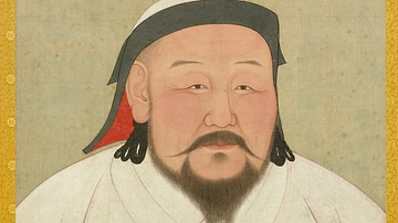 Portrait of Kublai Khan