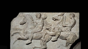 Pair of Horsemen on the Parthenon Marbles