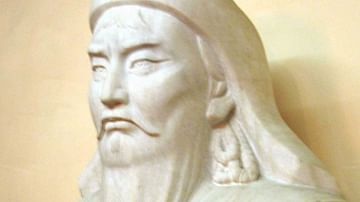 Bust of Genghis Khan