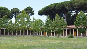 The Large Palaestra of Pompeii