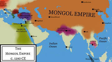 Mongol Empire Under Kublai Khan