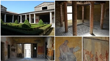 The  House of Menander in Pompeii