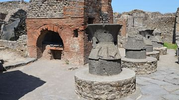 The Bakery of Popidius Priscus in Pompeii