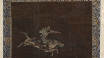 Mongol Horseman, Yuan Tradition