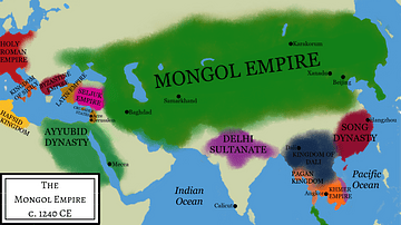 Mongol Empire Under Ogedei Khan