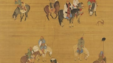 Kublai Khan on a Hunting Expedition
