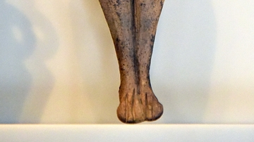Nude Female Figurine from Cyprus
