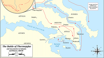 Battle of Thermopylae 480 BCE
