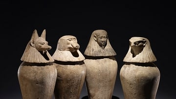Canopic Jars of Djedbastetiuefankh