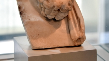 Head of Epicurus