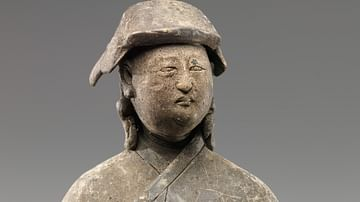 Figure of a Mongol, Yuan Dynasty