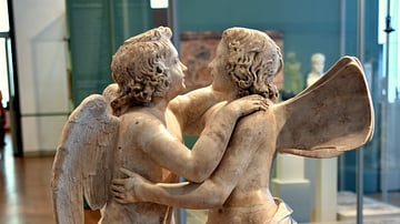 Statue of Amor & Psyche