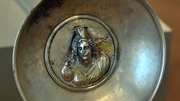 Bowl with a Figure of Cybele