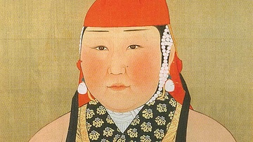 Wife of Yuan Emperor Yingzong