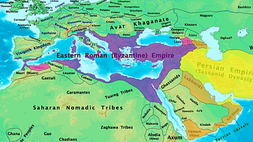 Byzantine & Persian Empires in the 7th Century