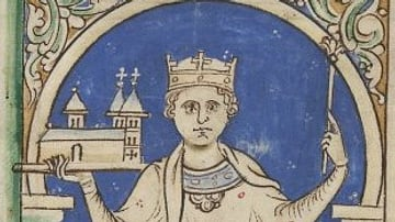 Painting of King Stephen of England