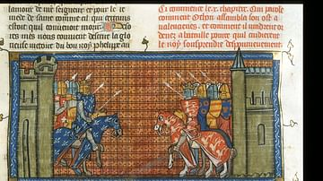 John I of England Battling Philip II of France